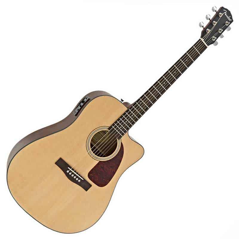 Fender CD140 SCE Natural Satin