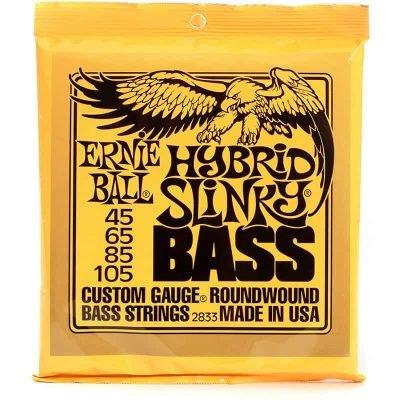Ernie Ball Nickle Bass Hybrid Slinky 45-105