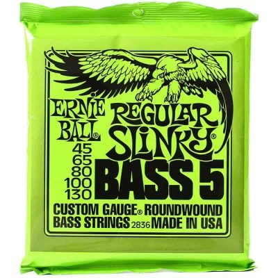 Ernie Ball Nickle Bass 45-130 5 String