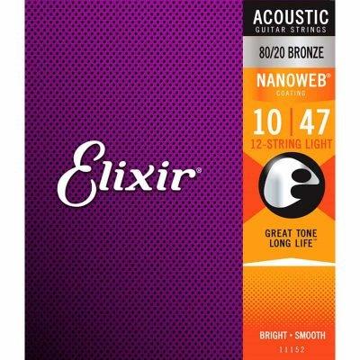 Elixir Acoustic Nanoweb 12string