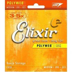 Elixir 5 String Banjo 10/23 MED