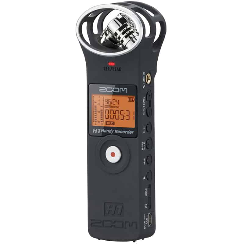 Zoom H1 Pocket Recorder
