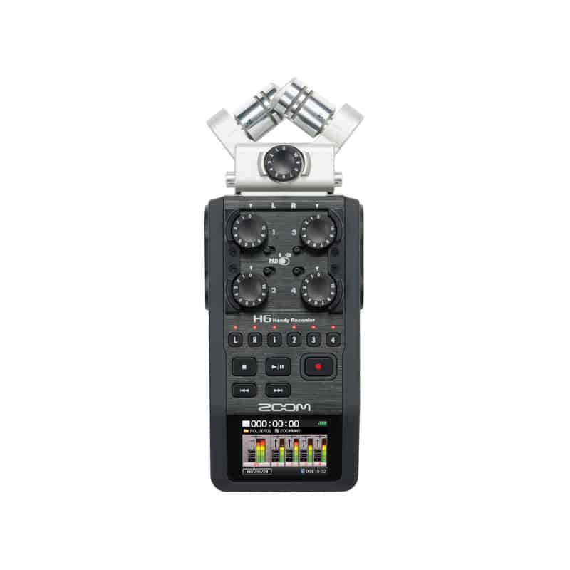 Zoom 6 Track Recorder