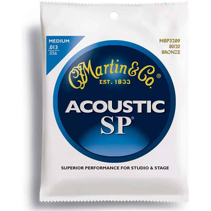 MARTIN 80/20 BRONZE WOUND GTR STRINGS