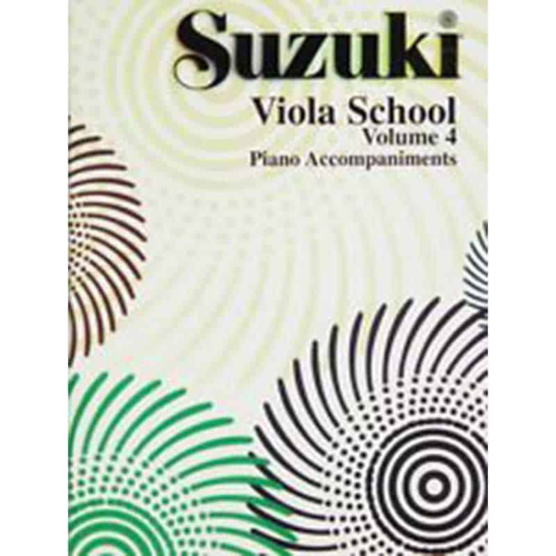 Suzuki Viola School Vol. 4