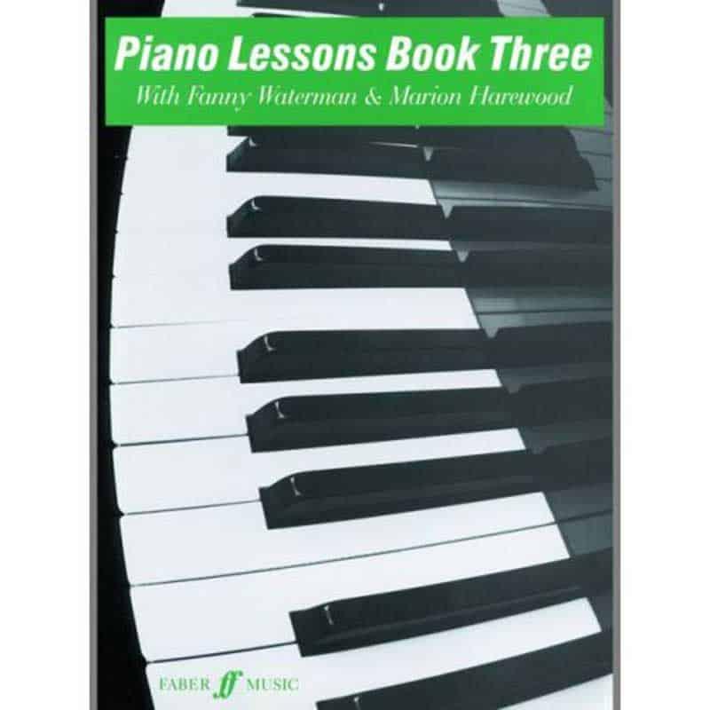 Piano Lessons Book 3 Waterman