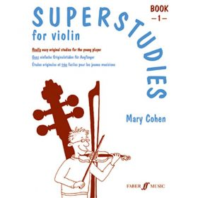 Superstudies Violin Book 1