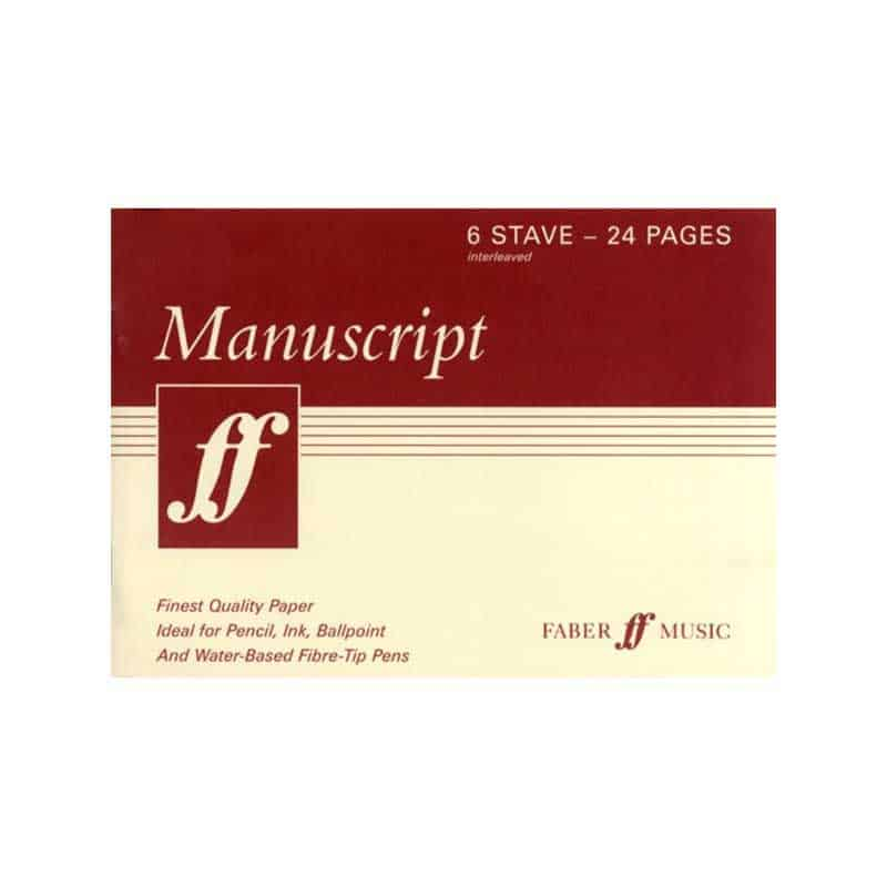 Manuscript A5 6 Stave 24 Page