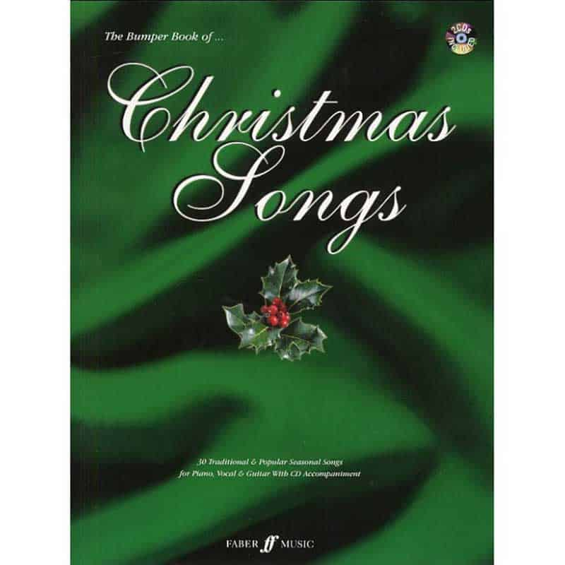 Bumper Book Of Christmas Songs Pvg & 2 Cd's