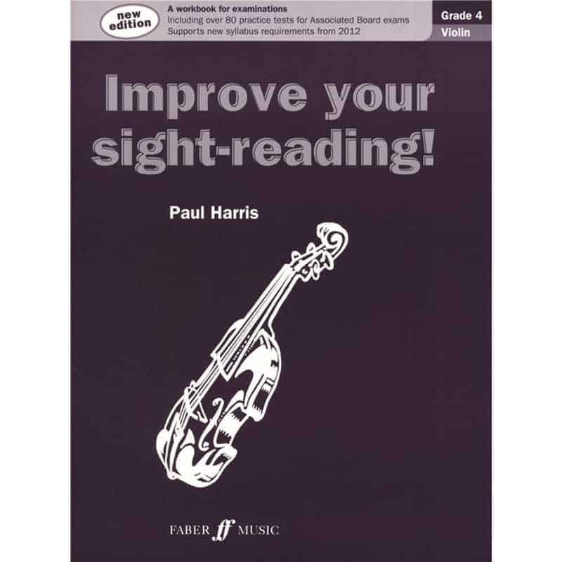 Improve Your Sight Reading Violin Grade 4 New