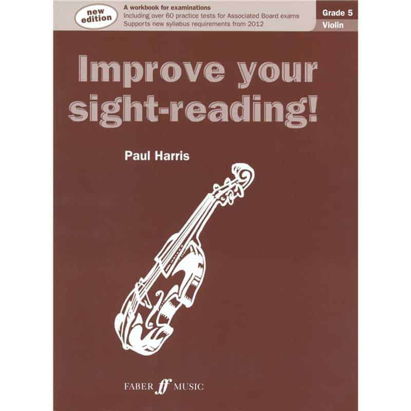 Improve Your Sight Reading Violin 5 New