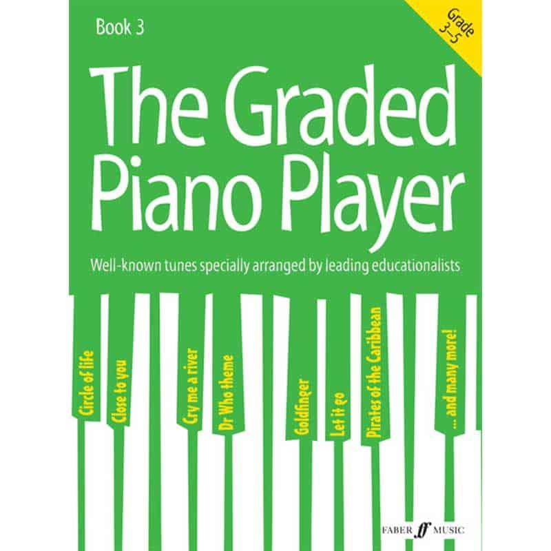 Graded Piano Player Grades 3 - 5