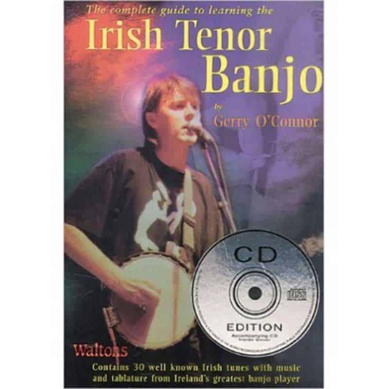 Gerry O Connor Irish  Tenor Banjo Bk & Cd