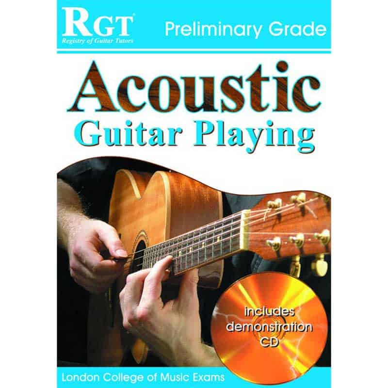 Rgt Acoustic Guitar Playing Preliminary Grade