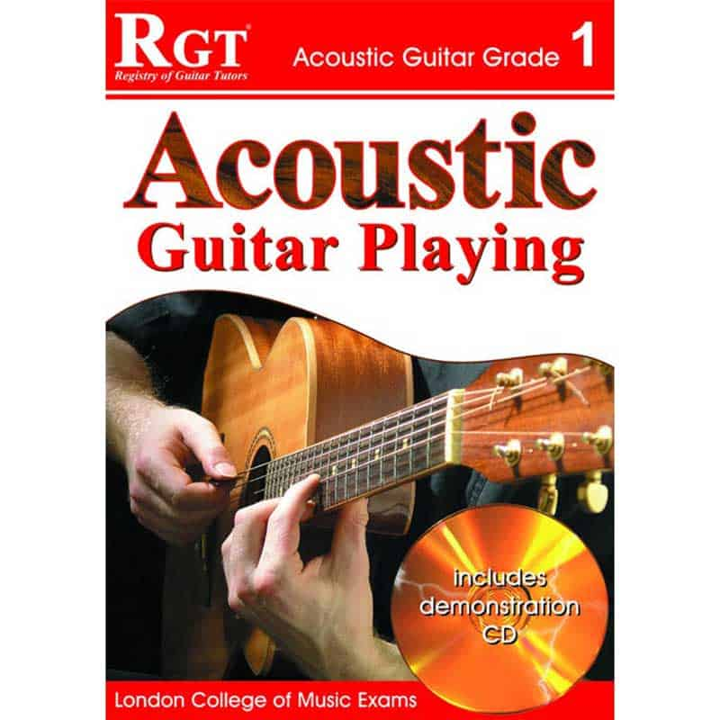 Rgt Acoustic Guitar Playing Gr 1 Bk/Cd