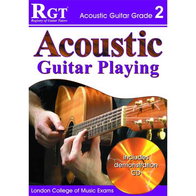 Rgt Acoustic Guitar Playing Gr 2 Bk/Cd