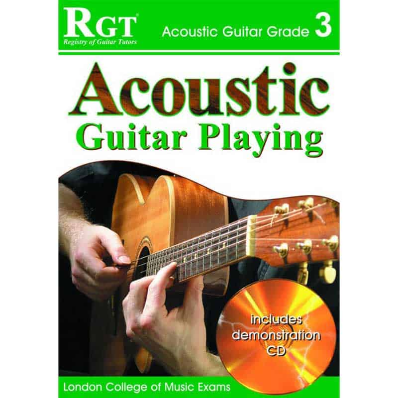 Rgt Acoustic Guitar Playing Gr 3 Bk/Cd