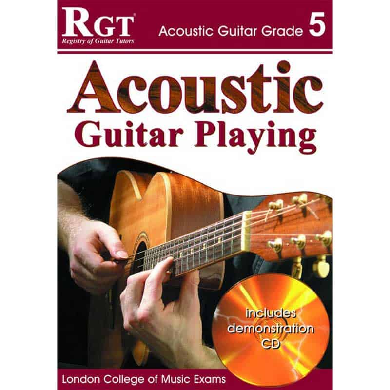 Rgt Acoustic Guitar Playing Gr 5 BK/Cd