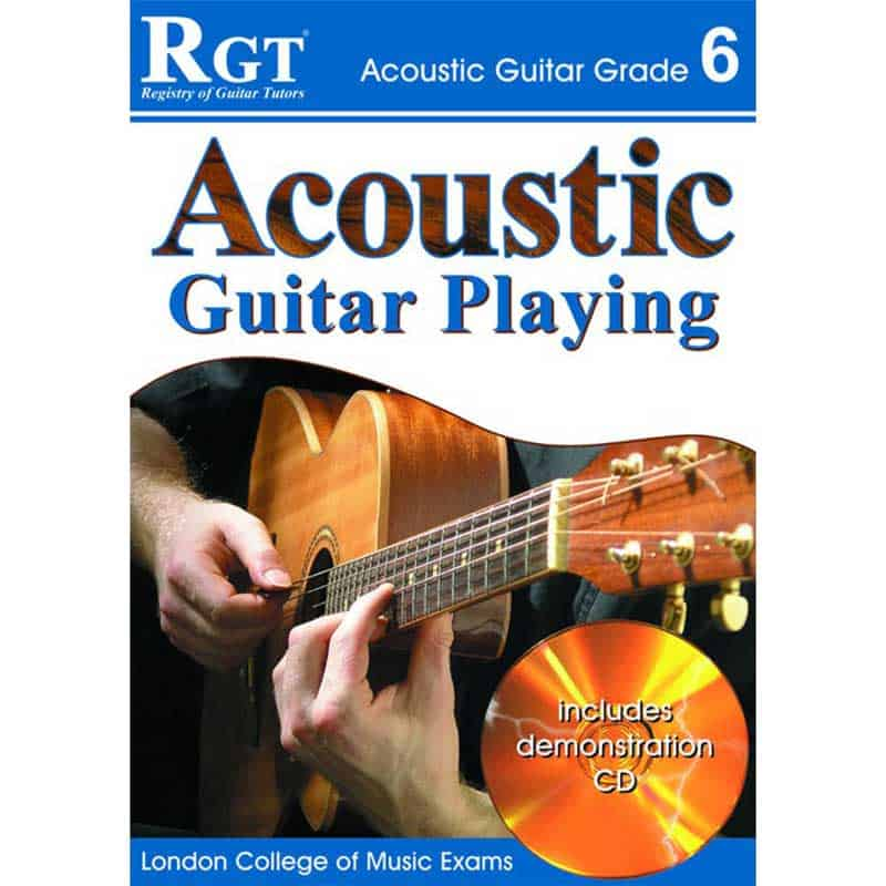 Rgt Acoustic Guitar Playing Gr 6 Bk/Cd