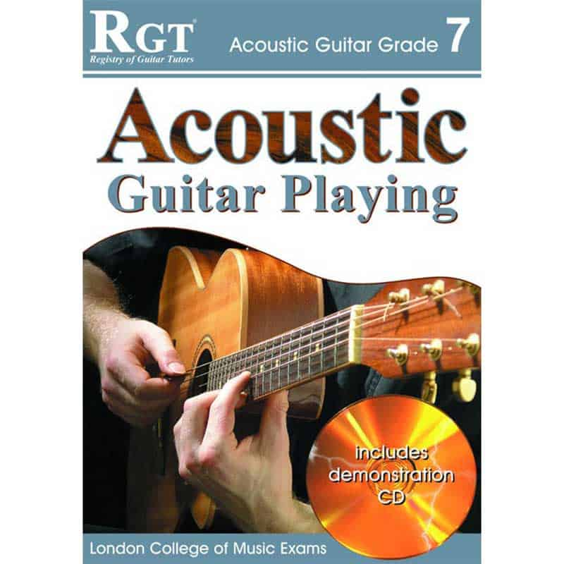 Rgt Acoustic Guitar Playing Gr 7 Bk/Cd
