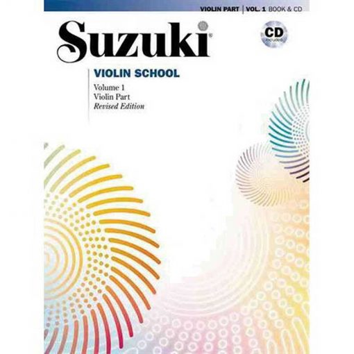 Suzuki Violin School Vol.1 Book & Cd