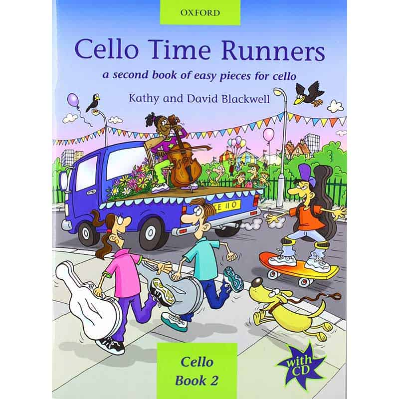 Cello Time Runners Book & Cd