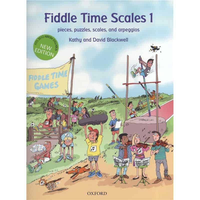 Fiddle Time Scales 1 Revised Edition