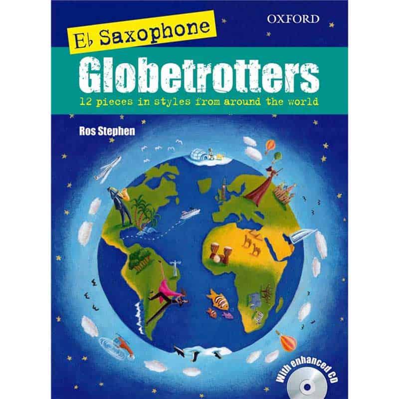 E Flat Saxophone Globetrotters