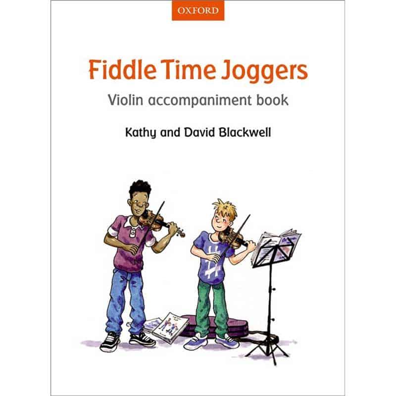 Fiddle Time Joggers Violin Accom Book