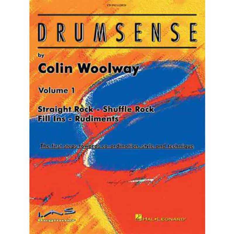 Drumsense Vol 1 Colin Woolway