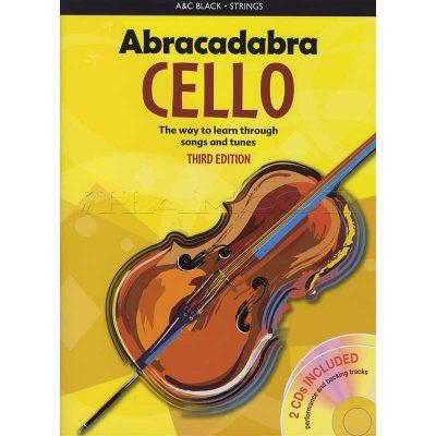 Abracadabra Cello 3rd Edt Bk/Cd