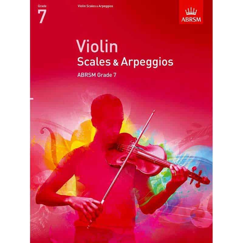 A/B Violin Scales & Arpeggios Grade 7