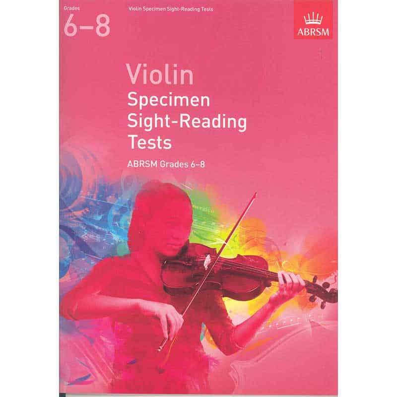 A/B Violin Sight  Reading Grades 6 - 8