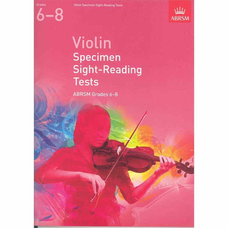 A/B Violin Sight  Reading Grades 6 - 8