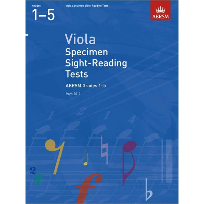 A/B Viola Sight Reading Grades 1 - 5