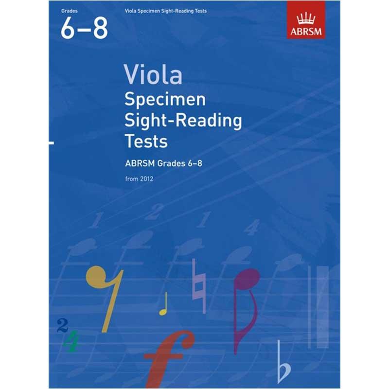 A/B Viola Scales & Arpeggios Grades 6 - 8