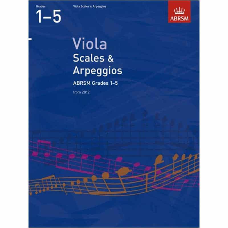A/B Viola Scales & Arpeggios Grades 1- 5