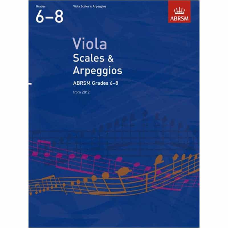 A/B Viola Sight Reading Grades 6 - 8