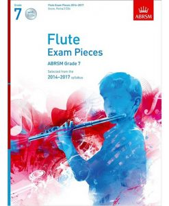 Flute Exam Pieces 2014 - 2017 Grade 7 & Cd