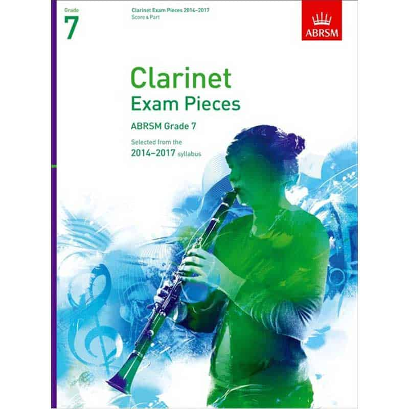 A/B Clarinet Exam Pieces Grade 7 2014 - 2017