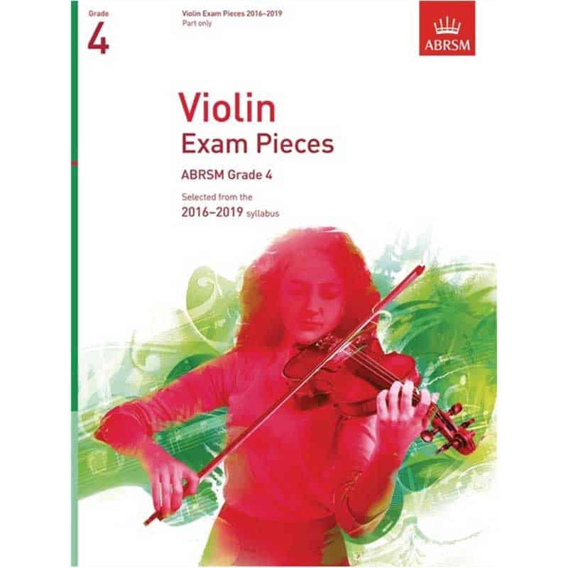 A/B Violin Exam Pieces Grade 4  2016 - 2019