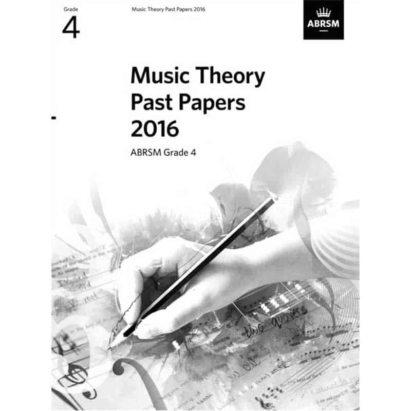 Theory Past Papers 2016 Grade 4
