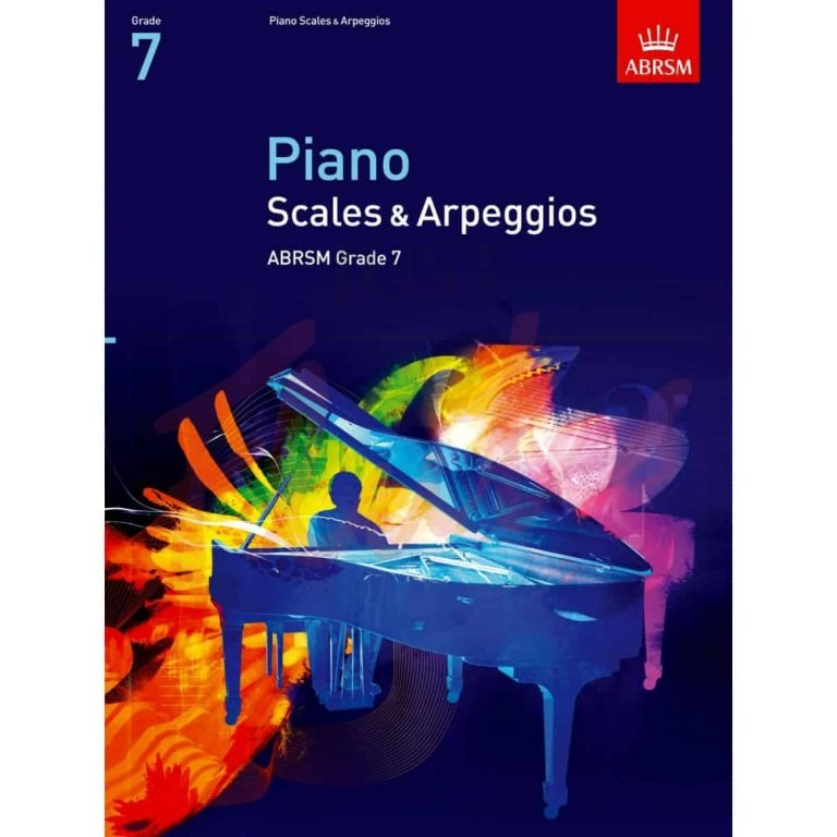 A/B piano scales and arpeggios gr7