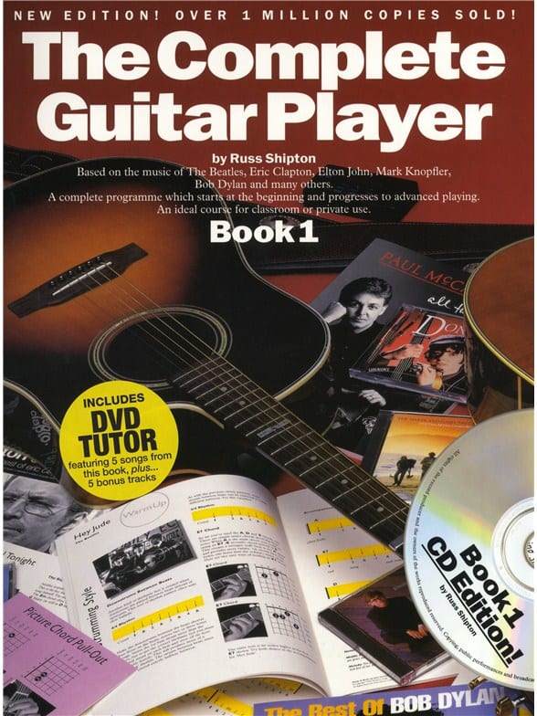 Complete Guitar Player Book 1 New Edt Dvd/Cd