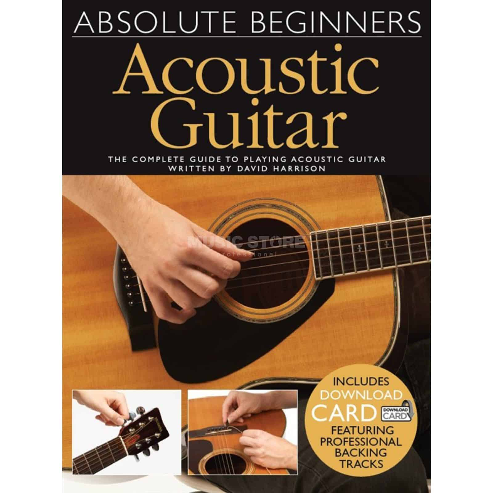 Absolute Beginners Acoustic Guitar Bk/Dcard