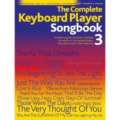 COMPLETE KEYBOARD PLAYER  SONGBOOK 3