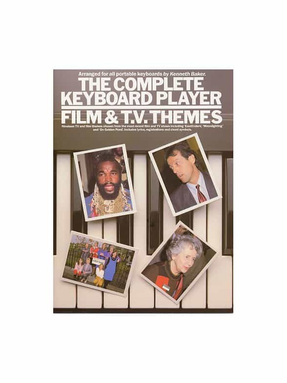Complete Keyboard Player Film Tv Themes