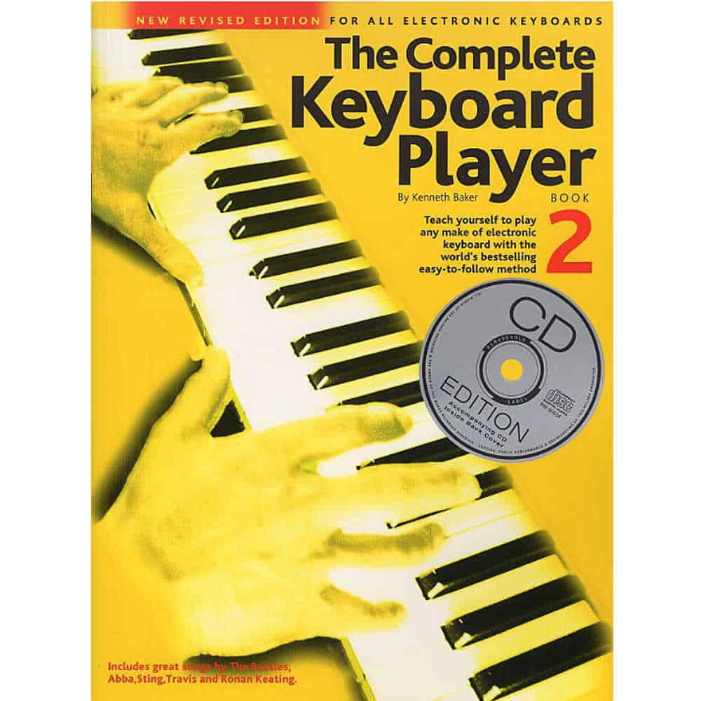 Complete Keyboard Player Bk 2 and Cd