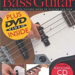 Absolute Beginner Bass Guitar BK/CD/DVD