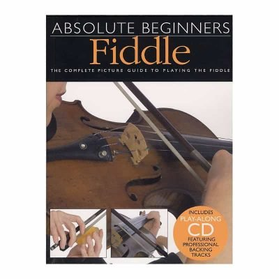 Absolute Beginners  Fiddle Bk/Cd